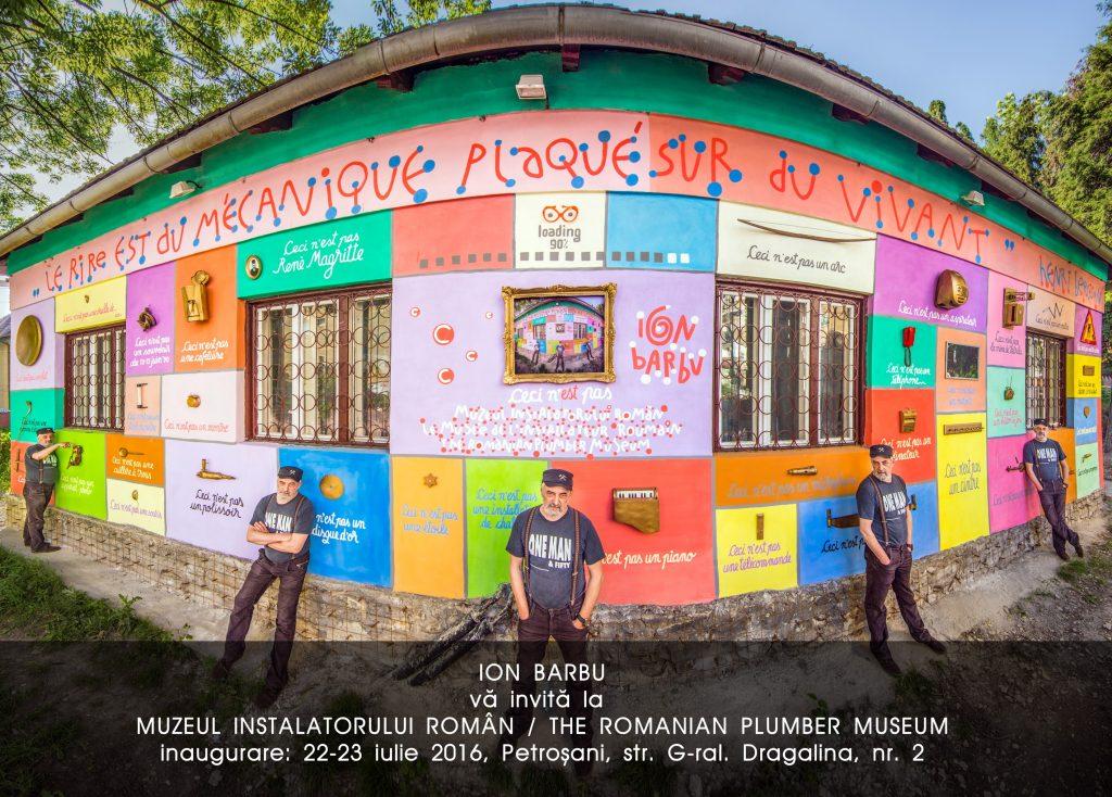 afis Deschiderea Muzeul Instalatorului Român Petroșani 2016